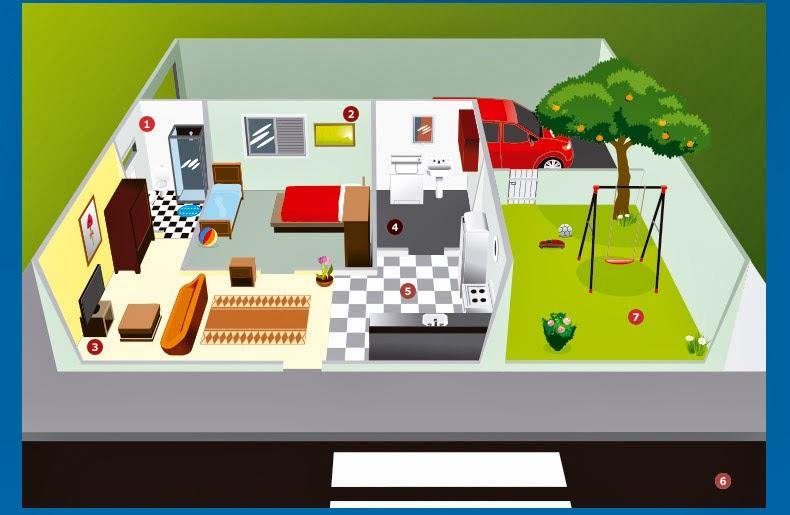 casa segura contra acidentes domesticos