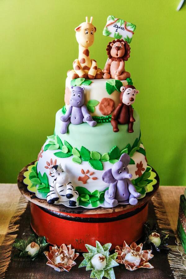 festa infantil tema safari