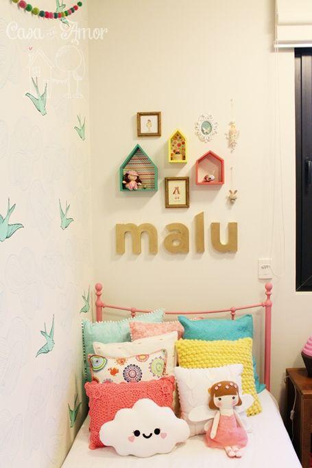 12dc2c83ef7cde 30 Inspirações de almofadas para o quarto das crianças - Maternidade ...