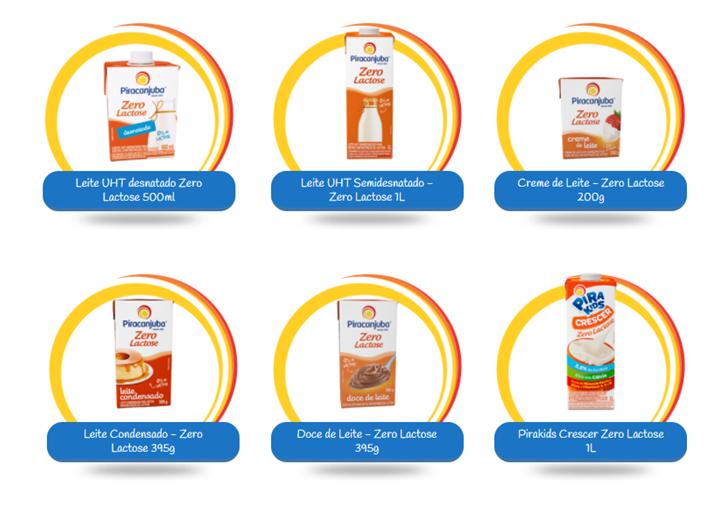 Linha Zero Lactose, produtos para te ajudar a variar no cardápio
