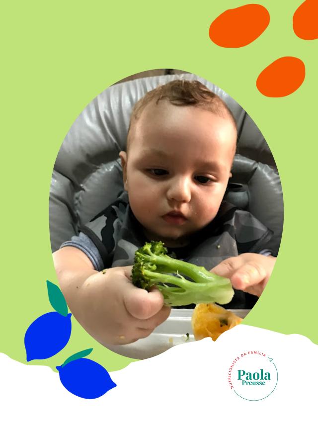 Introdução alimentar: começar pela fruta ou pelo vegetal?