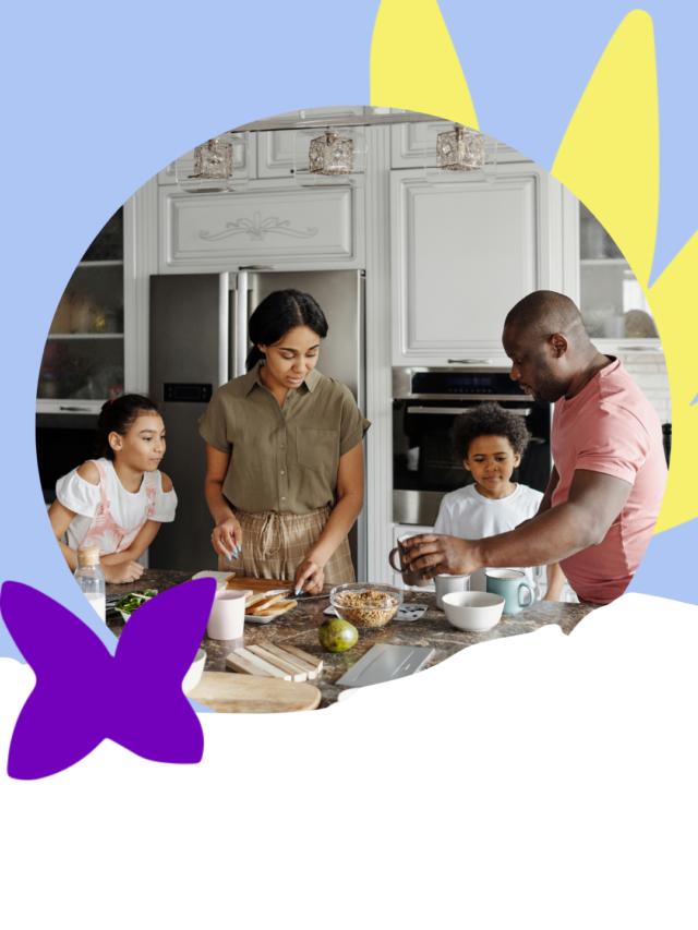 como reverter a alimentação da sua família